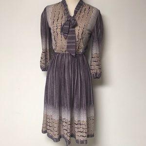 Vintage 1970's Secretary Dress